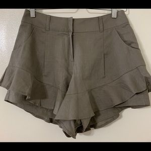 Pants - Beautiful 100% Linen Skorts M